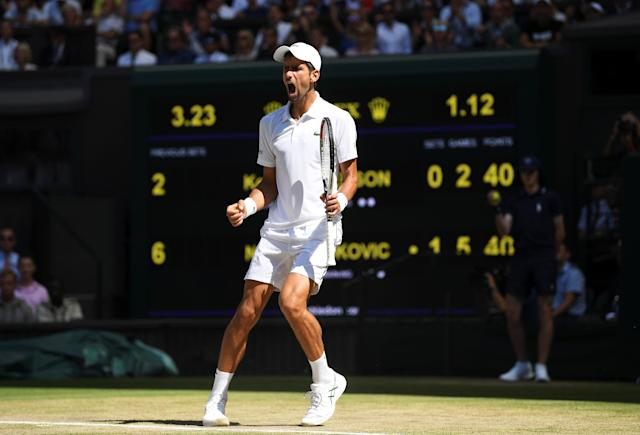 Novak Djokovic dominated Kevin Anderson en route to his 13th career Grand Slam. Neil Hall/Pool via Reuters