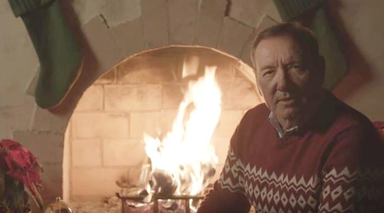 kevin spacey christmas video