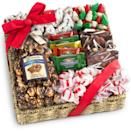 <p>This <span>Holiday Classic Chocolate, Caramel & Crunch Gift Basket</span> ($37) is the perfect thing to send for Christmas Eve.</p>