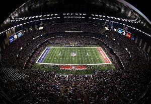 Mercedes-Benz Superdome during Super Bowl XLVII   Photo Credits: Rob Carr/Getty Images