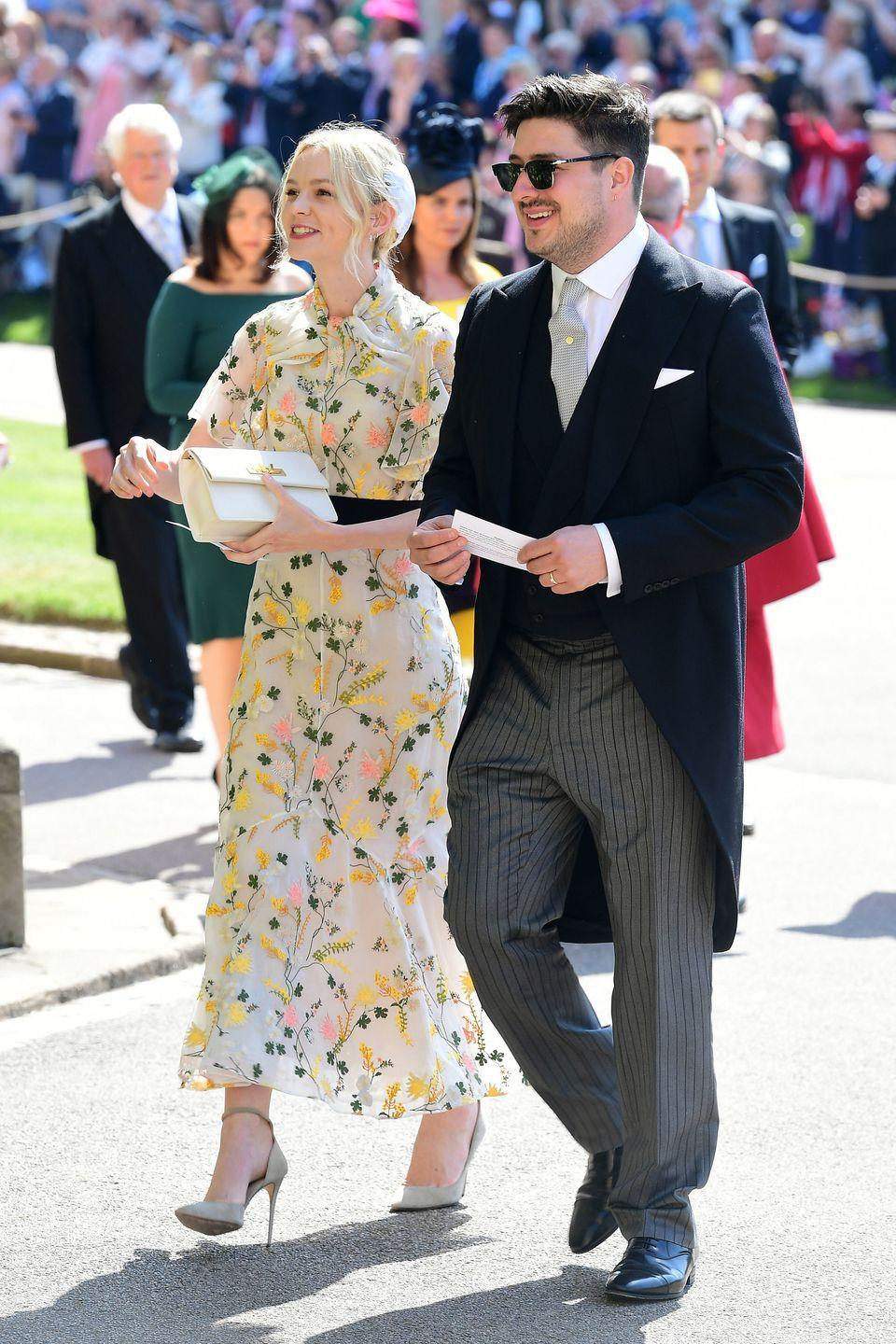 <p>While Carey and Mumford and Sons frontman Marcus are still married, they're a fiercely private couple, which explains why you might not know they're together. The couple wed in 2012 after less than a year of dating and now lives in England with their two children.</p>