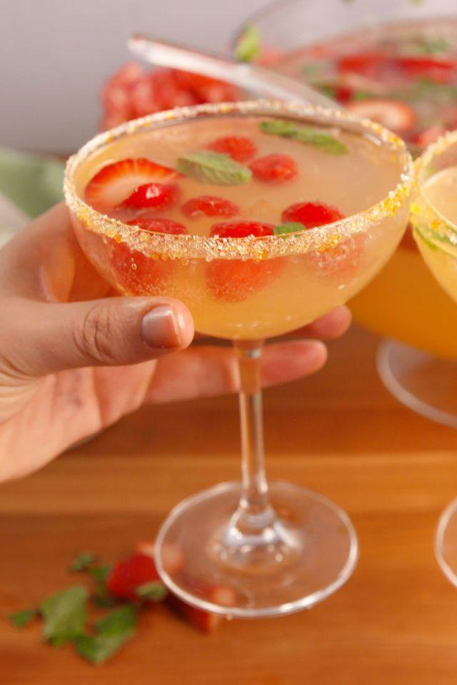 """<p>Whip up a big batch of this yummy punch to serve up for your family and friends. </p><p><strong><em>Get the recipe at <a href=""""https://www.delish.com/cooking/recipe-ideas/recipes/a52422/brunch-punch-recipe/"""" rel=""""nofollow noopener"""" target=""""_blank"""" data-ylk=""""slk:Delish."""" class=""""link rapid-noclick-resp"""">Delish. </a></em></strong></p>"""