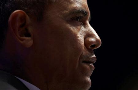 U.S. President Obama attends the opening session of the Nuclear Security summit in The Hague