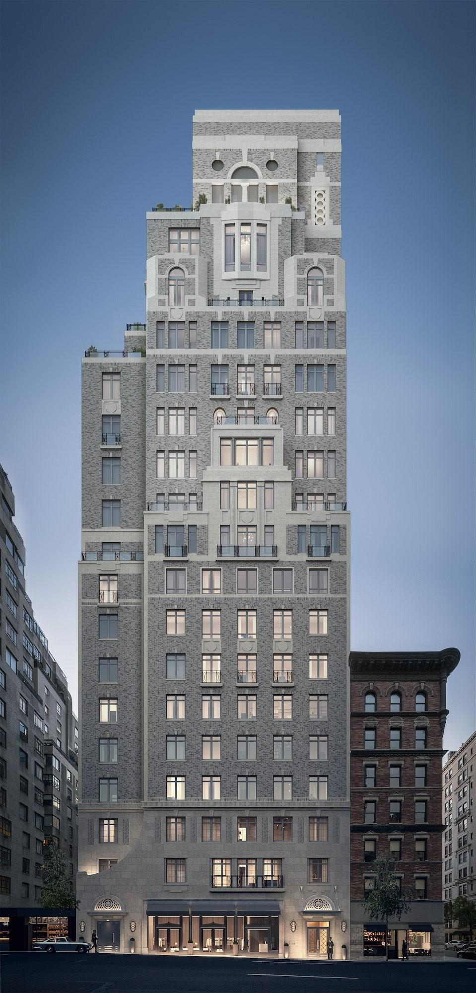 A street view of 1228 Madison, which is located in New York's Upper East Side, one block east of the Frank Lloyd Wright-designed Guggenheim Museum.