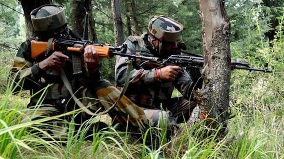 Army officer, four others killed in encounter in J&K