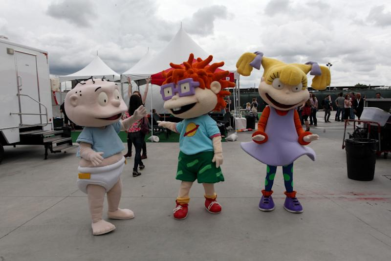 Get ready to go green, Rugrats fans.