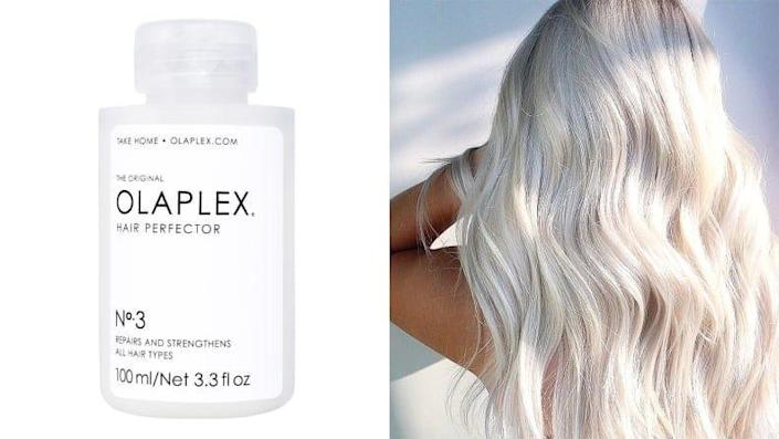 Repair your damaged hair once and for all with the Olaplex Hair Perfector No. 3.