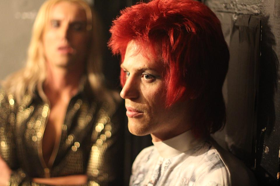 """""""Stardust"""" stars Johnny Flynn as 24-year-old David Bowie, who makes his first road trip to America before he crafts his legendary alter ego Ziggy Stardust."""