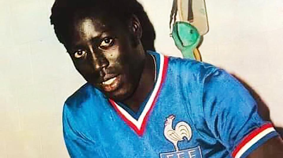 Jean-Pierre Adams, pictured here playing for France.