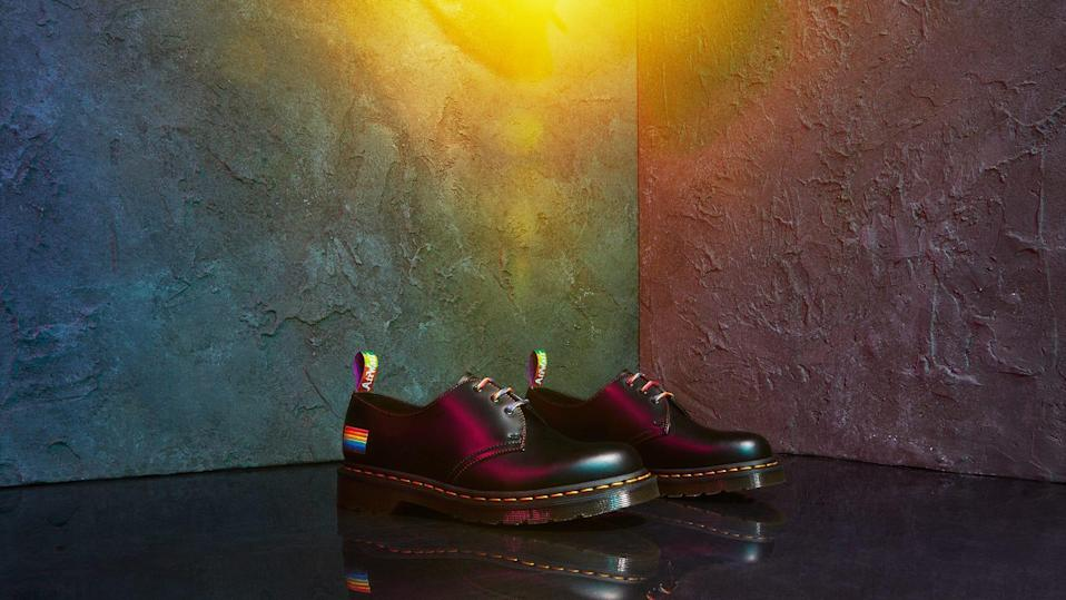 Dr. Martens' 1461 boots are one prideful way to celebrate this year.