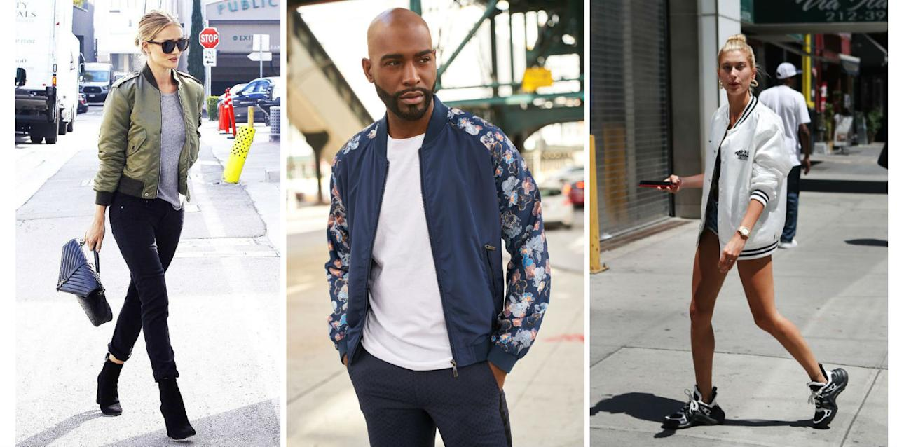 <p>History of bomber jacket dates back to early 20th century, when it was called as flight jacket, originally worn by pilots. Later, it came to civilian use and was part of popular culture and fashion. </p>