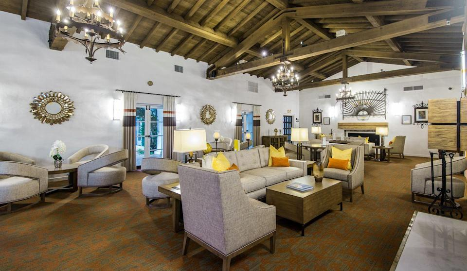 <p>Picture this: 20 hot men lounging here while you're checking in for your family vacay... </p>