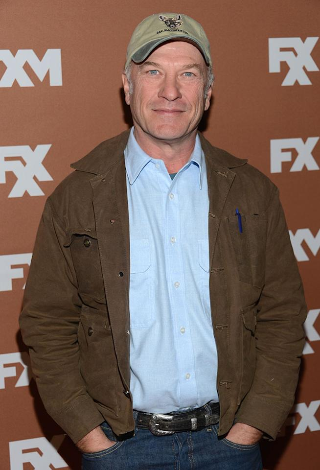 Ted Levine attends the 2013 FX Upfront Bowling Event at Luxe at Lucky Strike Lanes on March 28, 2013 in New York City.