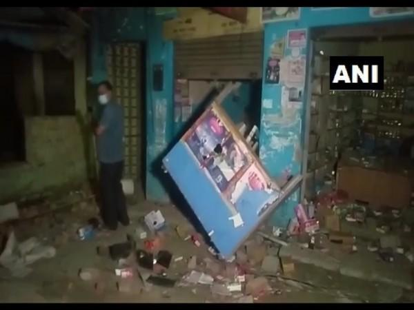 Visuals from the incident in Moradabad. (Photo/ANI)