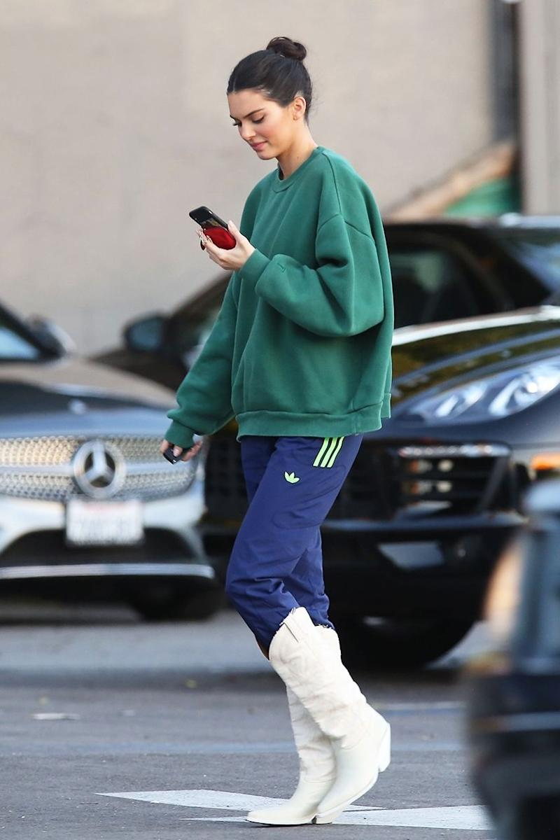 04d6abed12b Don t Be Afraid to Wear Your Boots Like Kendall Jenner Just Did—It s Cool  Now