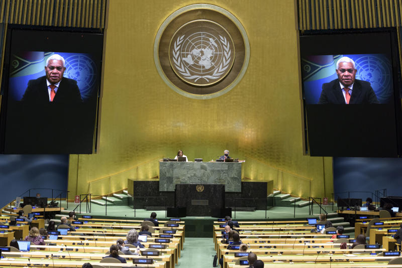 At UN, nations urge overdue reckoning with colonial crimes
