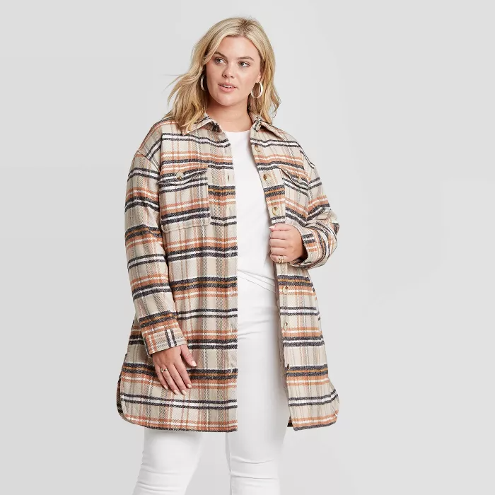 "<br><br><strong>Universal Thread</strong> Mid Length Plaid Shirt Jacket, $, available at <a href=""https://go.skimresources.com/?id=30283X879131&url=https%3A%2F%2Fgoto.target.com%2FQqGVA"" rel=""nofollow noopener"" target=""_blank"" data-ylk=""slk:Target"" class=""link rapid-noclick-resp"">Target</a>"