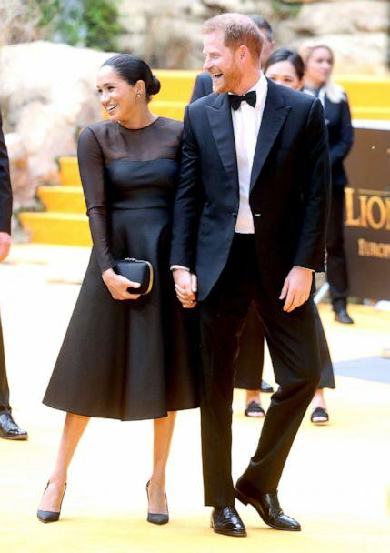 PHOTO: Prince Harry, Duke of Sussex and Meghan, Duchess of Sussex attend 'The Lion King' European Premiere at Leicester Square, July 14, 2019, in London. (Chris Jackson/Getty Images)