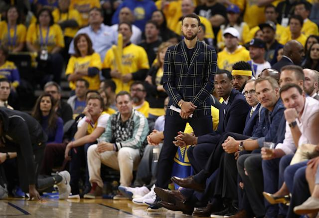 Steph Curry inked a deal with Sony Pictures Entertainment on Monday to help launch his production company, Unanimous Media. (Getty Images)