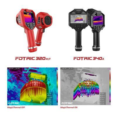 Fotric introduces the 320M/F and 340A handheld thermal camera