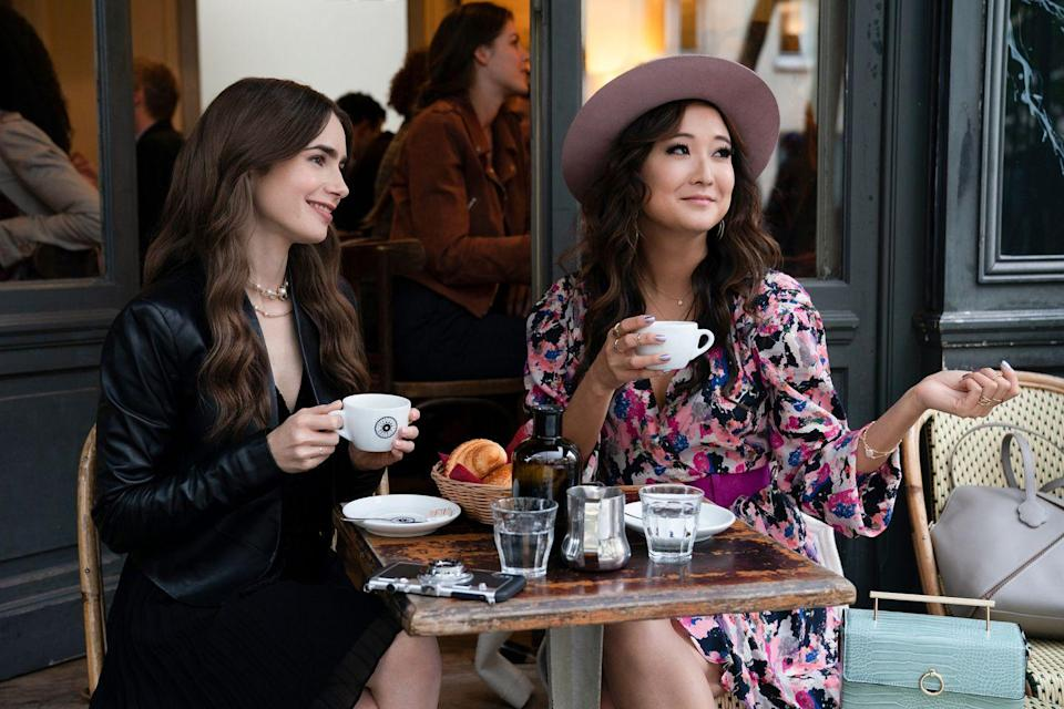 <p>This new romantic comedy series from <em>Sex and the City</em>'s Darren Star is all about an ambitious marketing executive in Chicago who unexpectedly lands her dream job in Paris. We can't wait for all the gorgeous site-seeing, beautiful clothes, and, of course, a little romance here and there. </p>