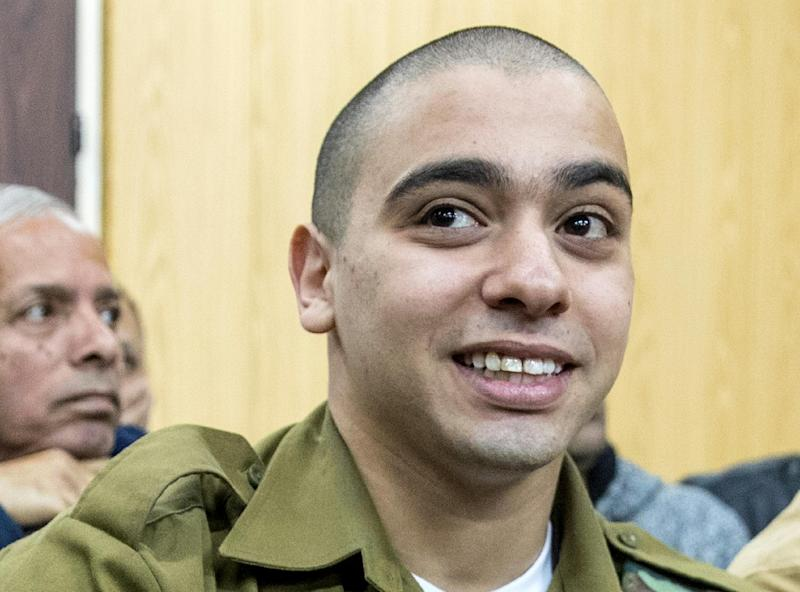 Israeli soldier Elor Azaria was sentenced to 18 months in jail by a military court in Tel Aviv, on February 21, 2017