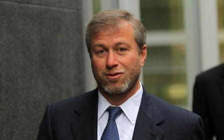 FILE PHOTO: Russian billionaire and owner of Chelsea football club Roman Abramovich arrives at Commercial Court in London
