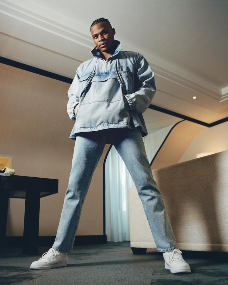 A look from Russell Westbrook's collaboraton. Photo courtesy of Acne Studios.