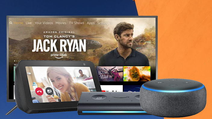 Save up to 50 percent on select Echo smart home devices. (Photo: Amazon)