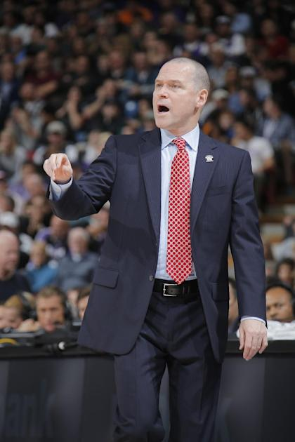 Michael Malone is charged with overhauling the Nuggets' culture. (Rocky Widner/NBAE/Getty Images)