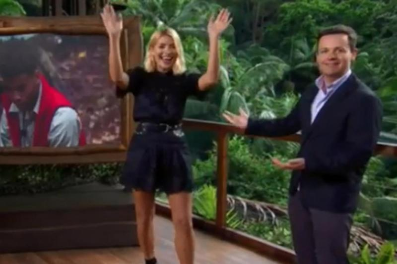 Having a laugh: Holly Willoughby and Declan Donnelly kicking off the new series (ITV)