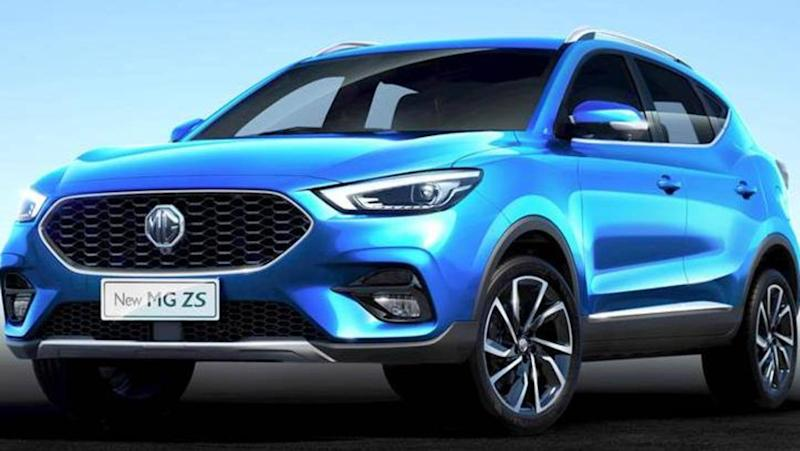 India-bound MG ZS (petrol) SUV spotted testing: Details here