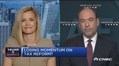 Douglas Holtz-Eakin, president of the American Action Forum, and Libby Cantrill, head of public policy at Pimco, discuss whether the Senate can pass its health-care bill.