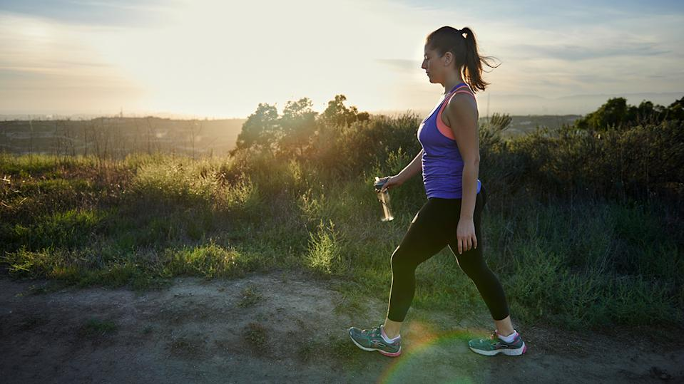 Walking is not only good for physical health, but also your mental health