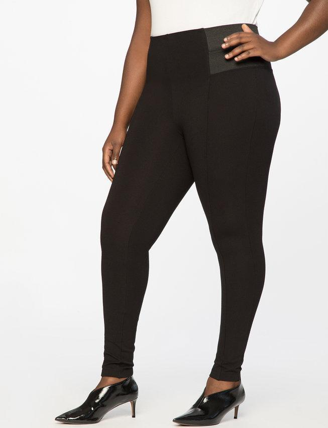 "<p>These have to be my favorite leggings on the planet! They are super thick enough to handle the cold, and the large elastic waistband sits higher on the hip for ultimate comfort and support.<br><strong><a href=""https://fave.co/2ElcJsT"" rel=""nofollow noopener"" target=""_blank"" data-ylk=""slk:Shop it:"" class=""link rapid-noclick-resp"">Shop it:</a></strong> Eloquii Miracle Flawless Legging, $70, <a href=""https://fave.co/2ElcJsT"" rel=""nofollow noopener"" target=""_blank"" data-ylk=""slk:eloquii.com"" class=""link rapid-noclick-resp"">eloquii.com</a> </p>"