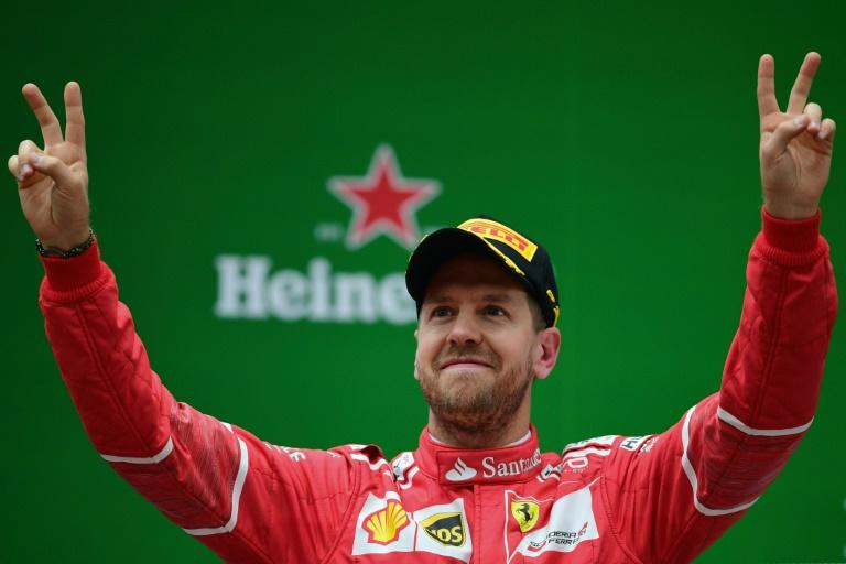 Sebastian Vettel has been crowned Formula One World Champion four times