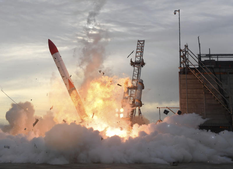 Interstellar Technology's second rocket crashes seconds after liftoff in Hokkaido