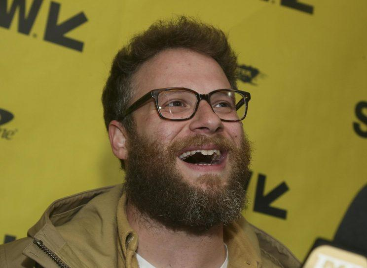 Rogen... not happy about Sony plans to make 'clean versions' of its movies - Credit: Sony