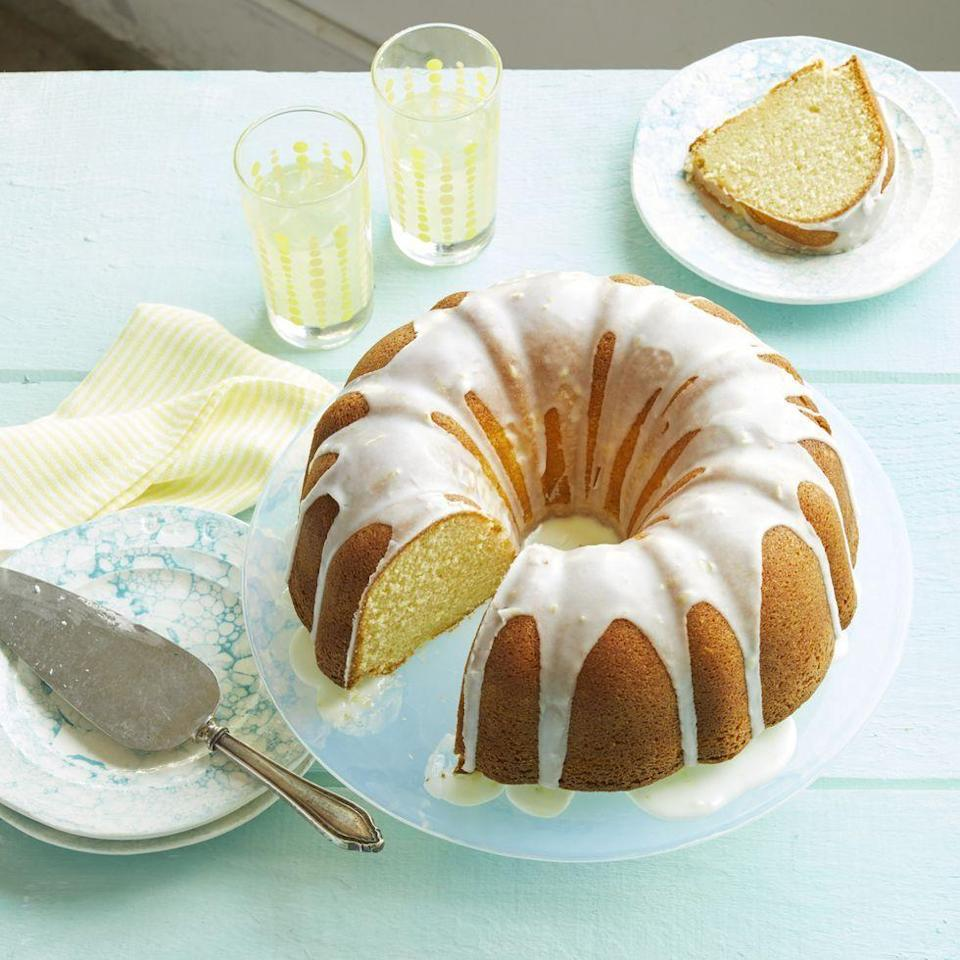 "<p>Keep the lemon flavor going strong with this easy pound cake. Save a few slices for breakfast the next morning!</p><p><a href=""https://www.thepioneerwoman.com/food-cooking/recipes/a35449404/lemon-pound-cake-recipe/"" rel=""nofollow noopener"" target=""_blank"" data-ylk=""slk:Get Ree's recipe."" class=""link rapid-noclick-resp""><strong>Get Ree's recipe.</strong></a></p><p><a class=""link rapid-noclick-resp"" href=""https://go.redirectingat.com?id=74968X1596630&url=https%3A%2F%2Fwww.walmart.com%2Fsearch%2F%3Fquery%3Dbundt%2Bcake%2Bpan&sref=https%3A%2F%2Fwww.thepioneerwoman.com%2Ffood-cooking%2Fmeals-menus%2Fg35408493%2Feaster-desserts%2F"" rel=""nofollow noopener"" target=""_blank"" data-ylk=""slk:SHOP BUNDT PANS"">SHOP BUNDT PANS</a></p>"