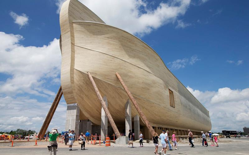 Owners of replica Noah's Ark seek flood damage compensation - AP