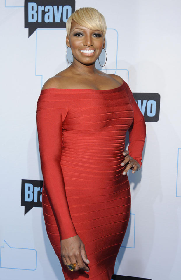NeNe Leakes attends Bravo's 2012 Upfront Event at Center 548 on April 4, 2012 in New York City.