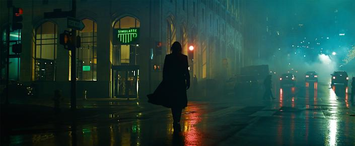 """""""The Matrix Resurrrections"""" revisits Neo (Keanu Reeves) in a modern world."""