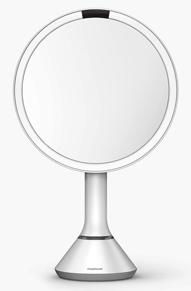 Simplehuman Sensor Mirror in White