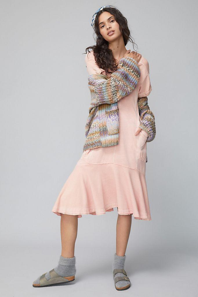 """<br><br><strong>Saturday/Sunday Anthropologie</strong> Joella Midi Dress, $, available at <a href=""""https://go.skimresources.com/?id=30283X879131&url=https%3A%2F%2Fwww.anthropologie.com%2Fshop%2Fjoella-midi-dress2"""" rel=""""nofollow noopener"""" target=""""_blank"""" data-ylk=""""slk:Anthropologie"""" class=""""link rapid-noclick-resp"""">Anthropologie</a>"""