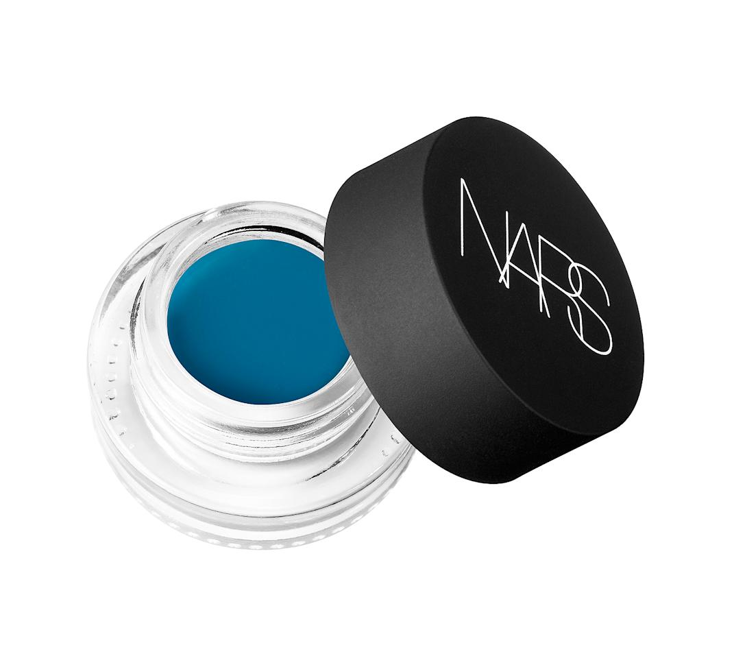 <p>Wu used this smooth-as-silk but highly pigmented eye shadow, defining her look with an angled brush. If a vibrant lid is not your vibe, dampen your brush and concentrate this color at your upper lash line for a fun effect. Buy It! NARS Solomon Islands Eye Paint, $25; nordstrom.com</p>