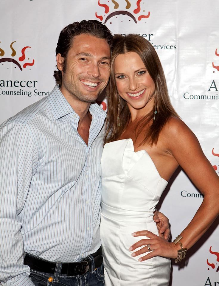 """<b>Edyta Sliwinska & Alec Mazo</b><br><br>Russian pro Alec Mazo won Season 1 of """"<a>Dancing With the Stars</a>"""" with soap star Kelly Monaco. He's been on and off the show since then, but his Polish amour, pro Edyta Sliwinska, appeared in Seasons 1 through 10. The dancers competed on the professional Latin ballroom circuit for years before joining """"DWTS"""" in 2005. They had planned to marry in 2006 but were too busy at the time, and so they ended up getting hitched in San Francisco in 2007. The good news is that they're still together. The bad news? One of the reasons Edyta left the show in 2010 was reportedly because she wanted to work with her husband but producers wouldn't give Alec a bigger role on the show."""
