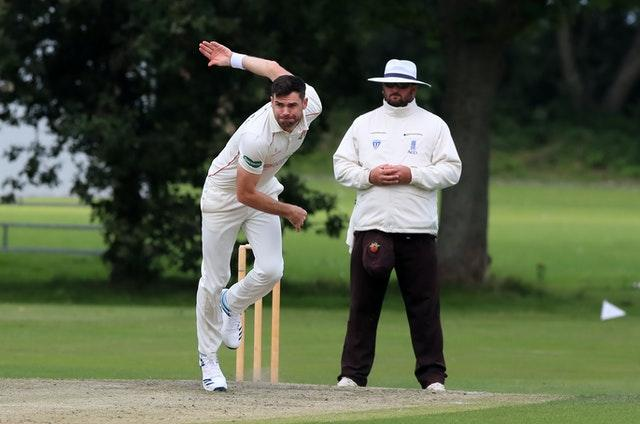 James Anderson has bowled at quieter venues in the past
