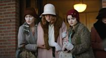 "<p>This 2018 drama tells the story of the women who worked at the U.S. Radium Factory in the early in the 20th century. Battling unexplained illnesses, a young girl and her coworkers decide to find out what's really going on.</p> <p> <a href=""https://www.netflix.com/search?q=Radium%20Girls%20&amp;jbv=81059876"" class=""link rapid-noclick-resp"" rel=""nofollow noopener"" target=""_blank"" data-ylk=""slk:Watch Radium Girls on Netflix now."">Watch <strong>Radium Girls</strong> on Netflix now.</a> </p>"