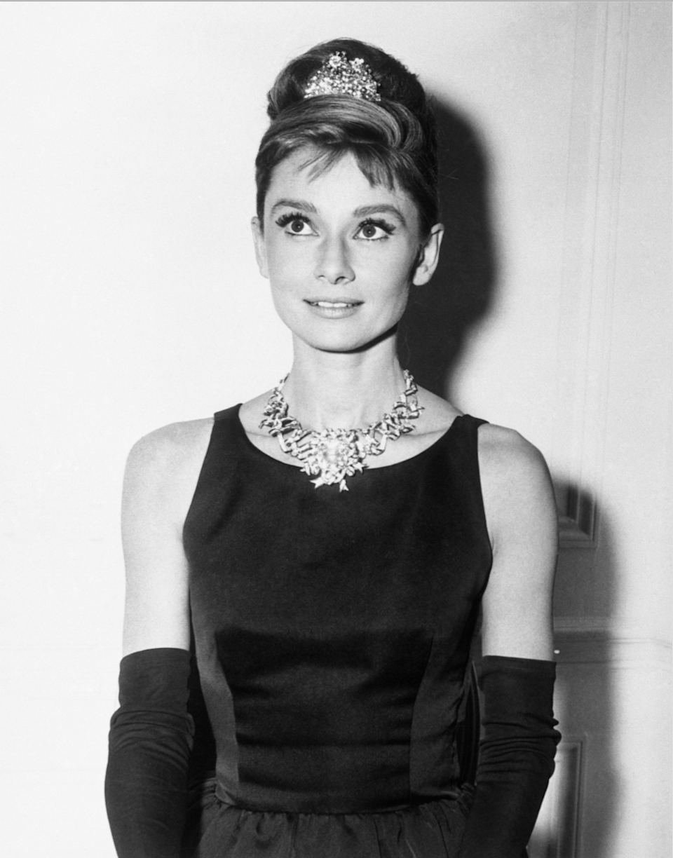 <p>Playing Holly Golightly in <em>Breakfast at Tiffany's.</em></p>