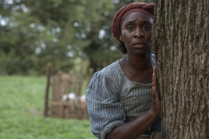 """Cynthia Erivo stars as Harriet Tubman in the 2019 biographical drama """"Harriet"""" on HBO. <span class=""""copyright"""">(Glen Wilson/ Focus Features)</span>"""